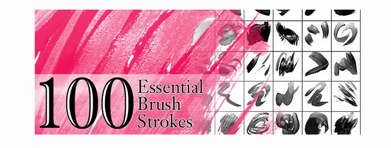 100-Strokes-–-Speed-up-the-project The best Photoshop watercolor brushes you can get online