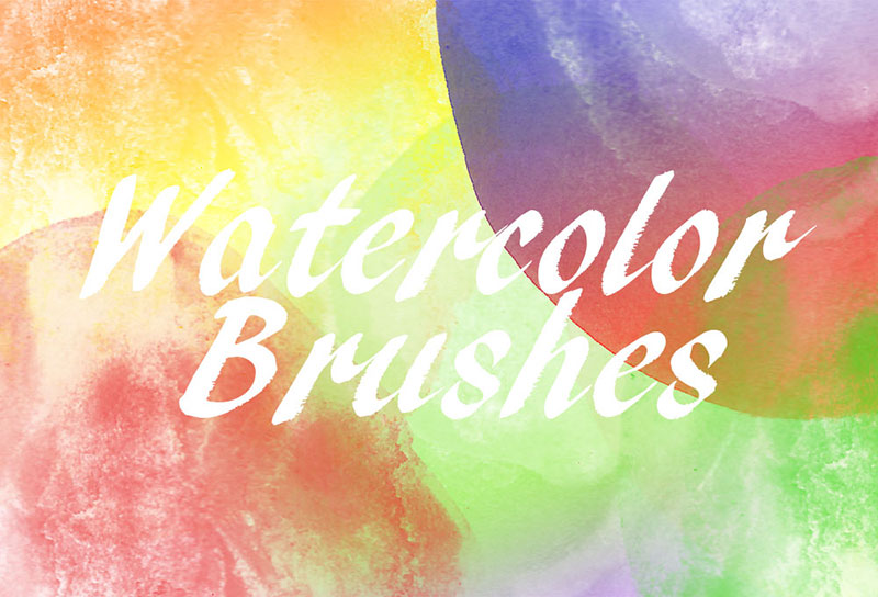 24-Watercolor-Brushes-Variety-for-all-jobs The best Photoshop watercolor brushes you can get online