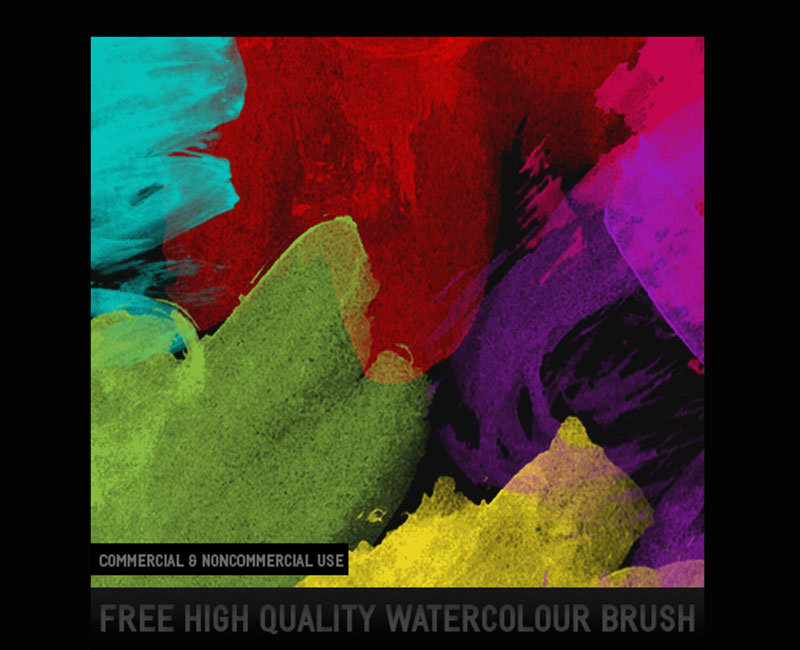 9-HQ-Watercolor-Brush-Textures-for-any-occasion The best Photoshop watercolor brushes you can get online