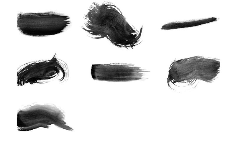 High-Res-Watercolor-Photoshop-Brushes-The-oil-complement The best Photoshop watercolor brushes you can get online