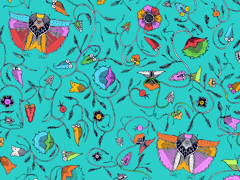 Seamless-Floral-Pattern-Background-Pop-style A great deal of spring background images to download