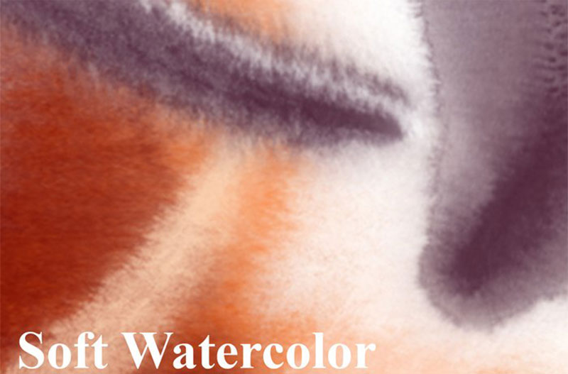 Soft-Watercolor-Brushes-Dont-saturate-the-paint The best Photoshop watercolor brushes you can get online