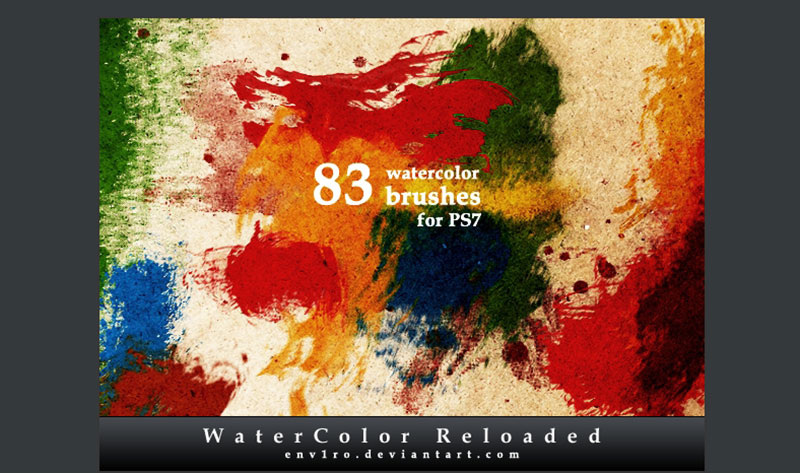 WaterColor-Reloaded-Create-a-huge-collection The best Photoshop watercolor brushes you can get online