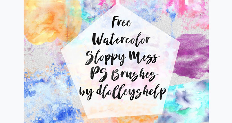 Watercolor-Sloppy-Mess-Appearances-are-deceiving The best Photoshop watercolor brushes you can get online
