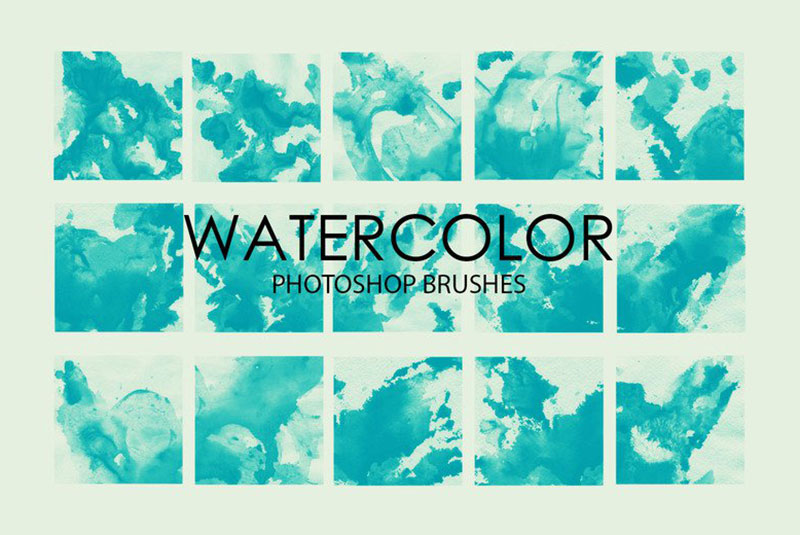 Watercolor-Wash-Photoshop-Brushes-Free-also-includes-quality The best Photoshop watercolor brushes you can get online