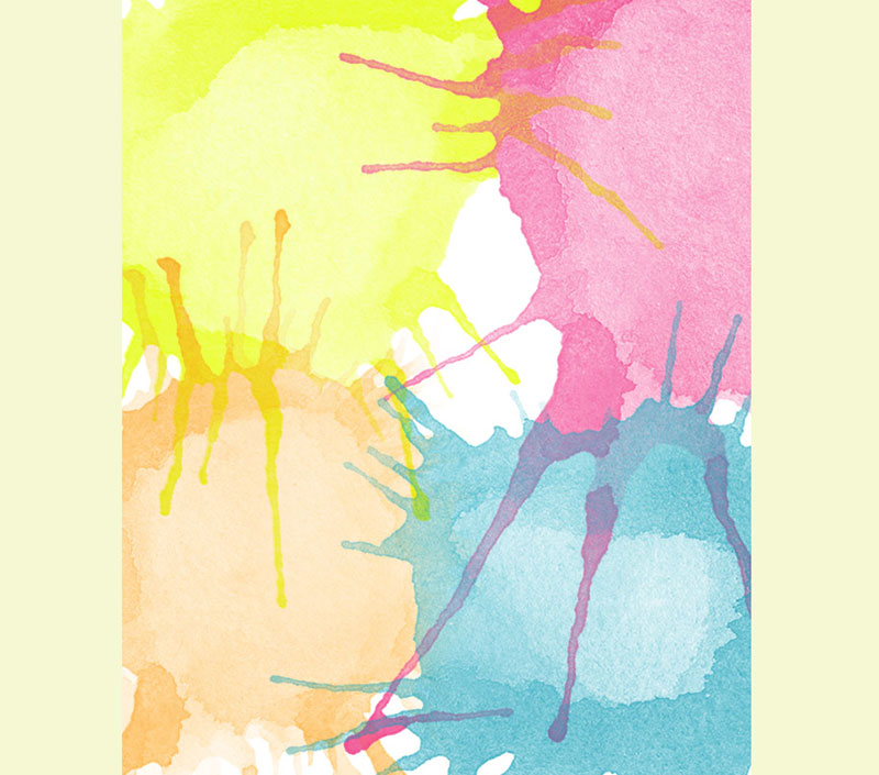 Watercolor-paint-blobs-free-Photoshop-brush-set-Colorful-explosions The best Photoshop watercolor brushes you can get online