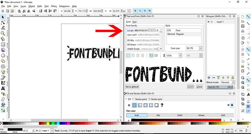 font-inskape How to add fonts to Inkscape (Quick and easy guide)
