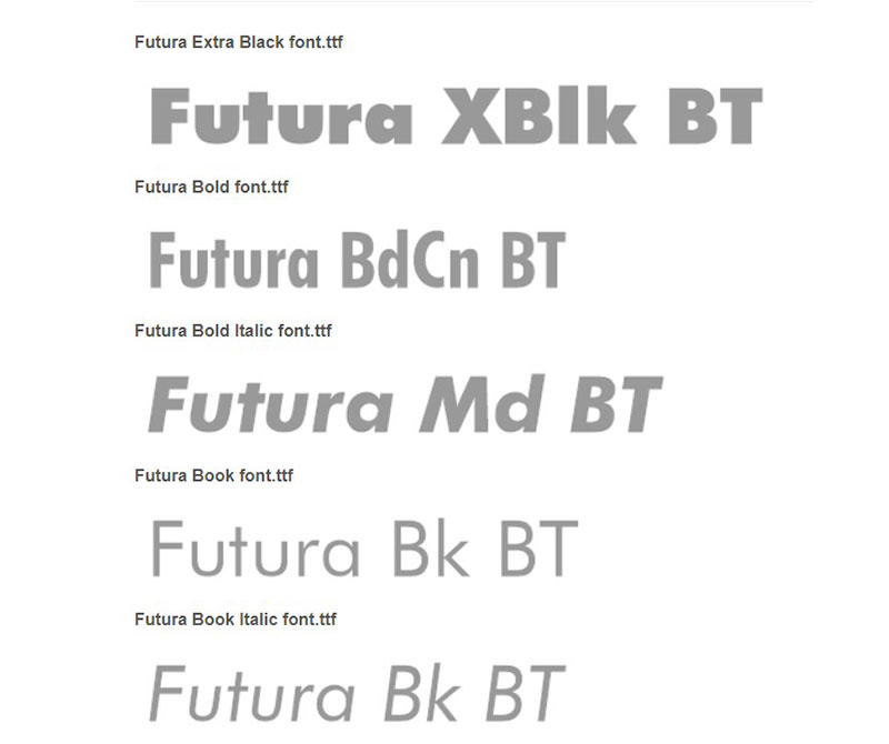 futura What font does Supreme use? Check out the Supreme font