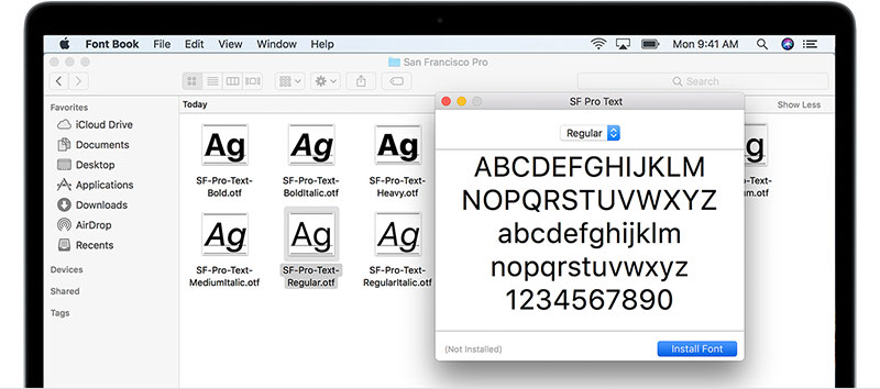 install-font-mac How to add fonts to Inkscape (Quick and easy guide)