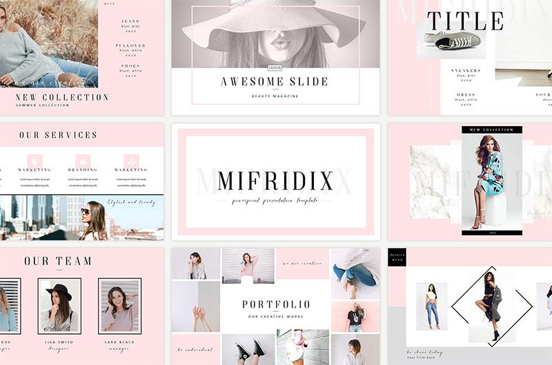 1Mifridix-–-Minimalist-Slide-Design The best free minimalist Powerpoint templates