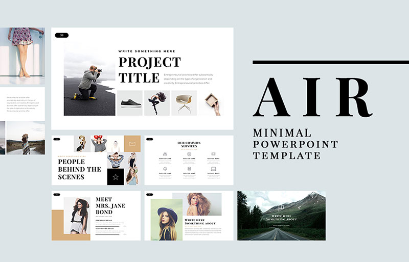 Air-Aesthetic-Backgrounds The best free minimalist Powerpoint templates