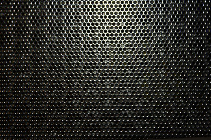 Black-Metal-with-Holes-Texture-–-For-the-air-to-circulate Metal background images and textures for your projects