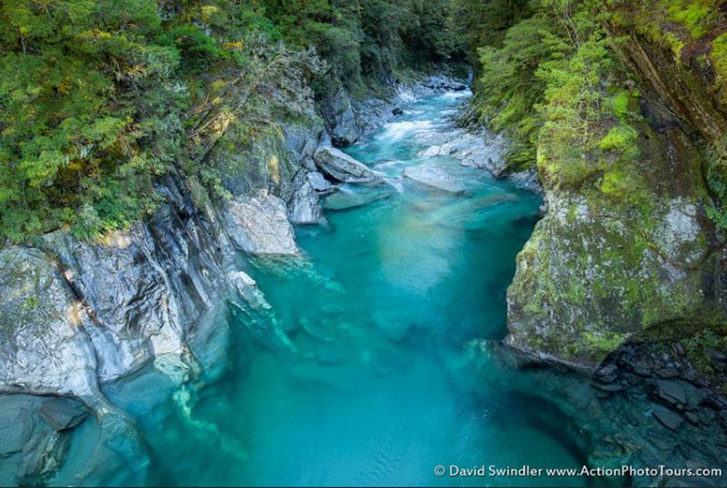 Blue-Pools-of-Haastwallpaper New Zealand wallpaper images for your desktop background