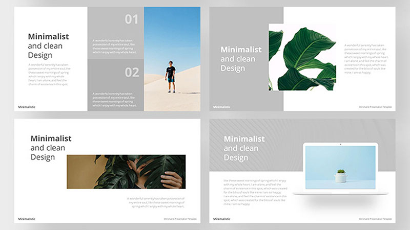 Bold-Aesthetic-Free-Layouts The best free minimalist Powerpoint templates
