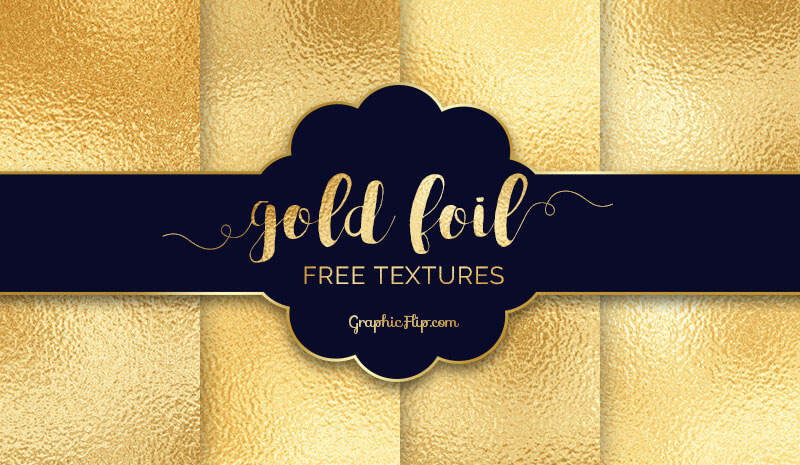 Free-Gold-Foil-Textures-to-Glam-up-Your-Design-Projects-The-beauty-of-gold Metal background images and textures for your projects