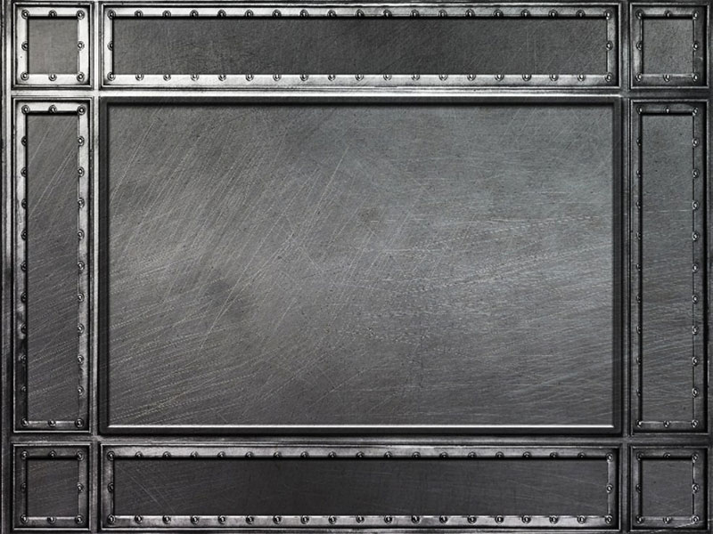 Iron-Metal-Frame-Background-Texture-A-sturdy-frame Metal background images and textures for your projects