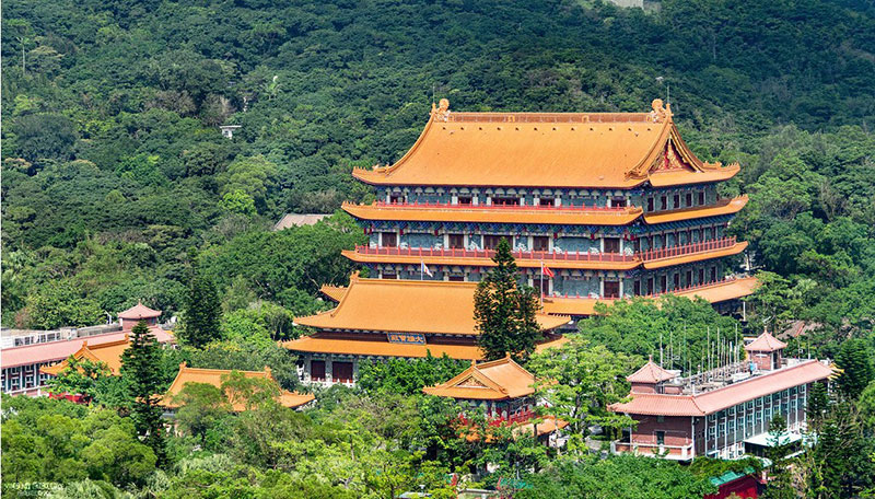 Po-Lin-Monastery Awesome Hong Kong Wallpaper Examples for Your Desktop