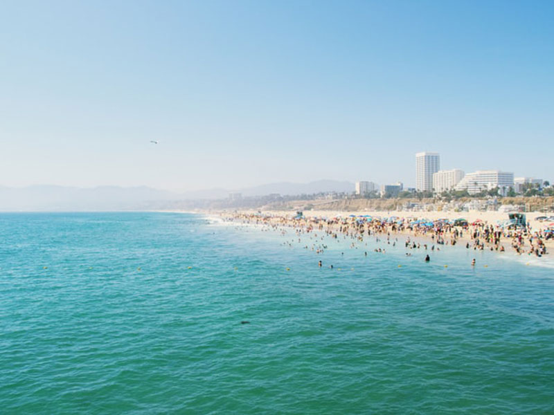 Santa-Monica-Pier-wallpaper-Direct-view-of-the-sea Cool Los Angeles wallpaper options to put on your desktop background