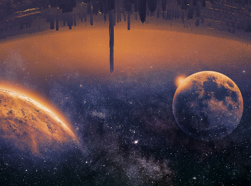 Sci-Fi-City-Background-with-Galaxy-Space-Texture-Free-The-cities-of-the-future Neat stars background images for stellar designs
