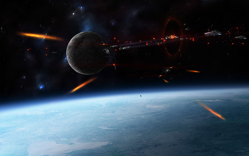 Space-War-Collab-The-fantasy-of-fighting-in-space Space background images and textures you can't work without