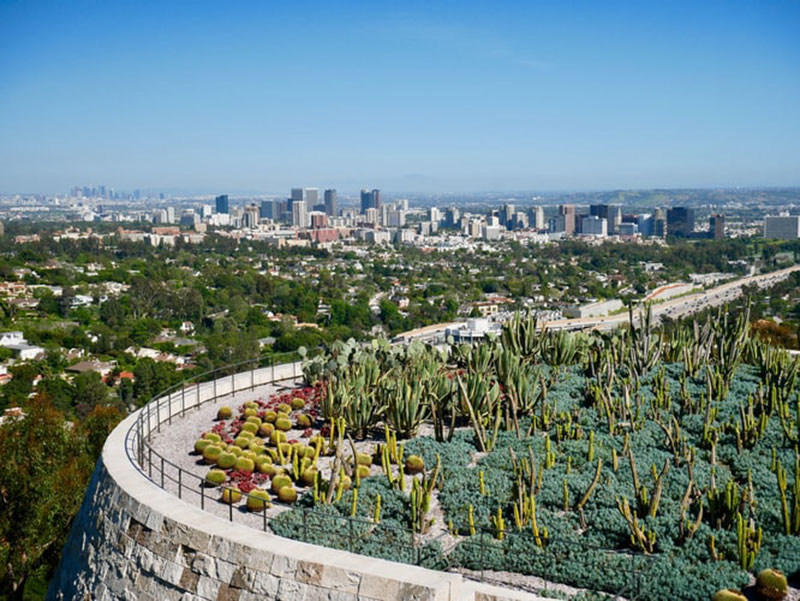 The-Getty-Center-wallpaper-–-Panoramic-view Cool Los Angeles wallpaper options to put on your desktop background