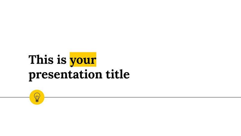 Viola-Free-Minimalist-PowerPoint-Templates The best free minimalist Powerpoint templates