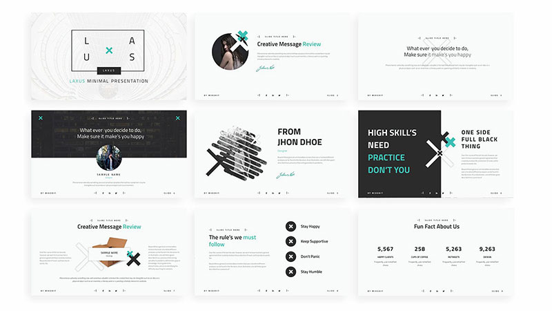 zeen-powerpoint-template-1 The best free minimalist Powerpoint templates