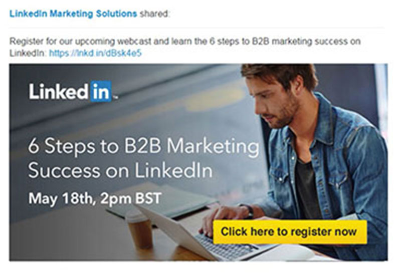 linkedin 11 Advertisement Design Tips That Will Help You Make an Impression