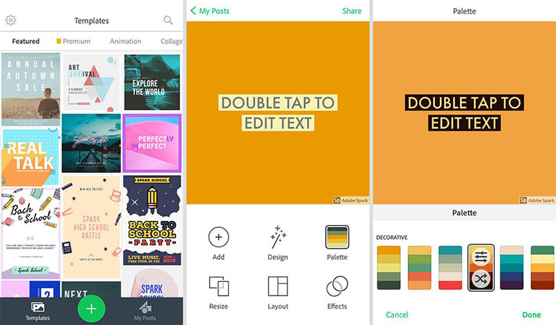 adobe-Easy-to-use Canva vs Adobe Spark. Which one should you use?