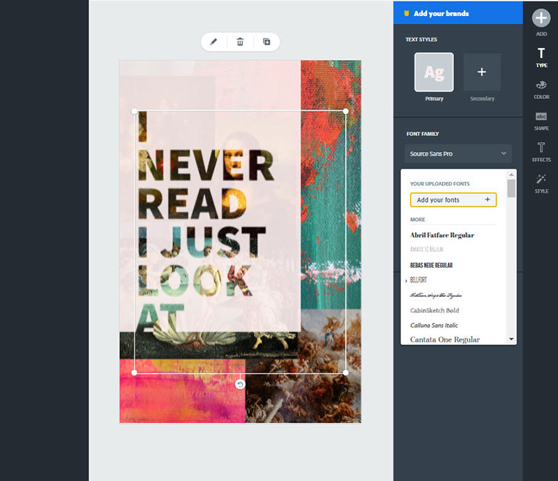 fonts-adobe Canva vs Adobe Spark. Which one should you use?