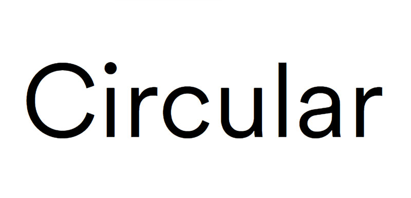 Circular What font does Slack use in its interface and website?