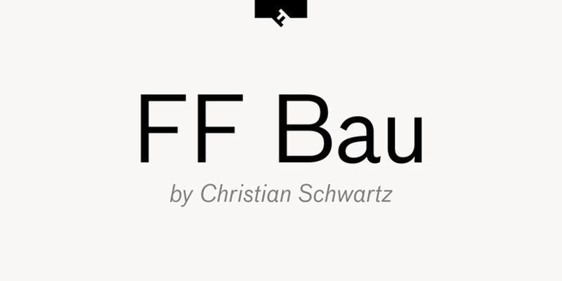 FF-Bau What font does Slack use in its interface and website?