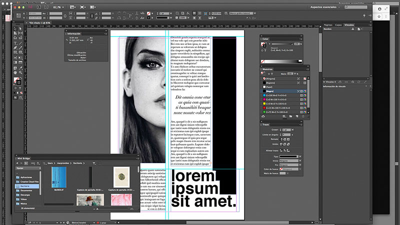 Font-Packages Canva vs InDesign. The one you should pick for work