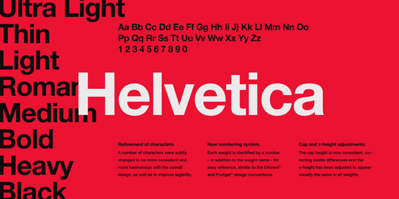 Helvetica-1 What font does Medium use on its website?