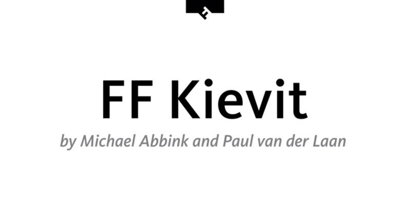 Kievit What font does Medium use on its website?