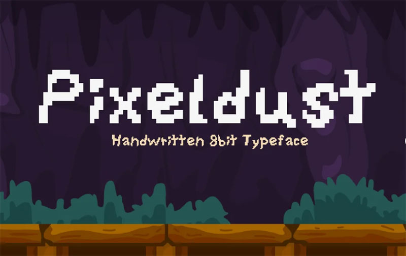Pixeldust-Font What font does Minecraft use? (Answered)