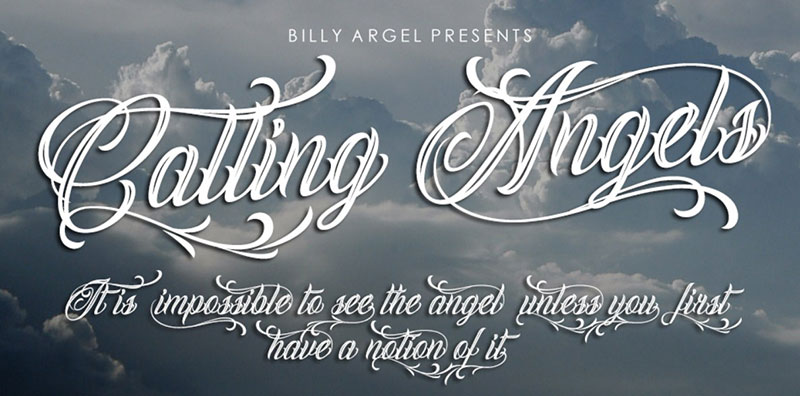 calling-angels What font does Disney use? Check out the Disney fonts