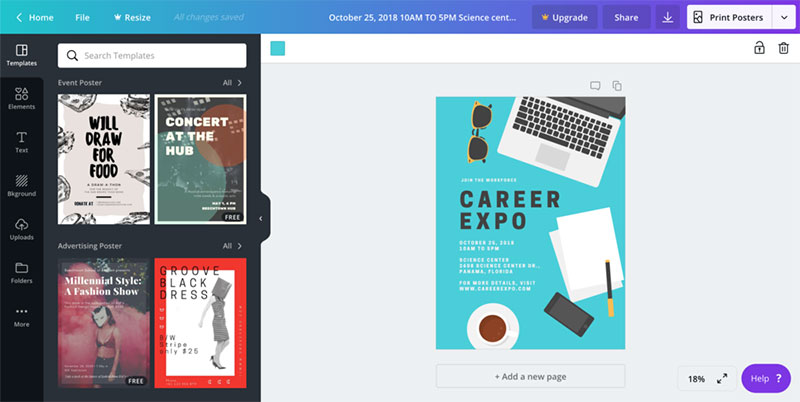 canva-templates Canva vs InDesign. The one you should pick for work