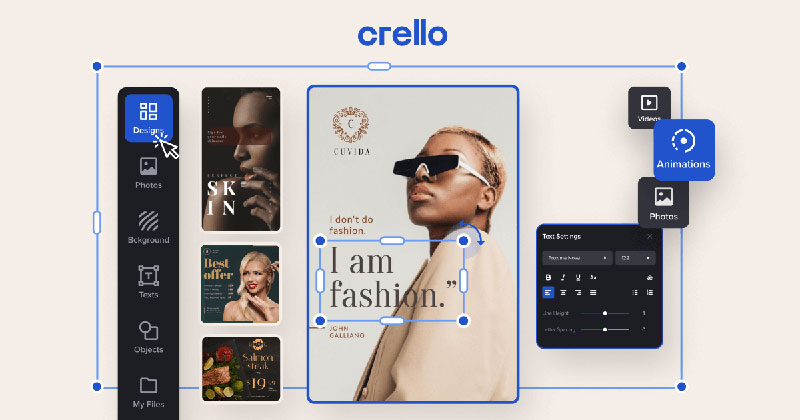 capabilities Canva vs Crello. The one you should pick from the two