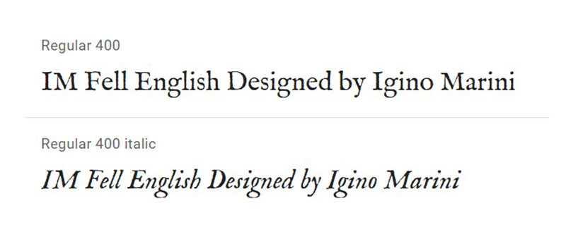 fell What font does Medium use on its website?