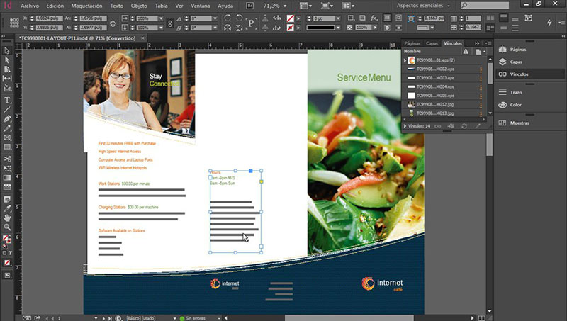 interface-adobe Canva vs InDesign. The one you should pick for work