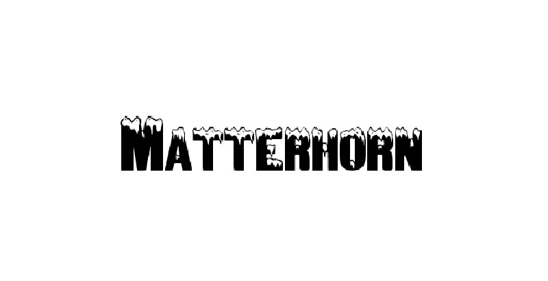 matterhorn What font does Disney use? Check out the Disney fonts