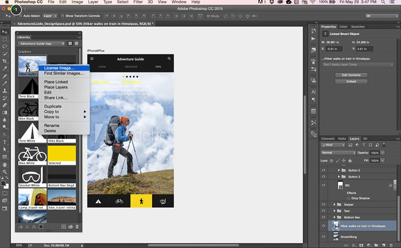 stock-images Canva vs InDesign. The one you should pick for work