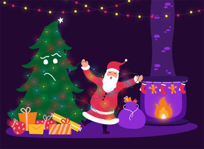 CHRISTMAS-SEASON Christmas illustration examples that look amazing