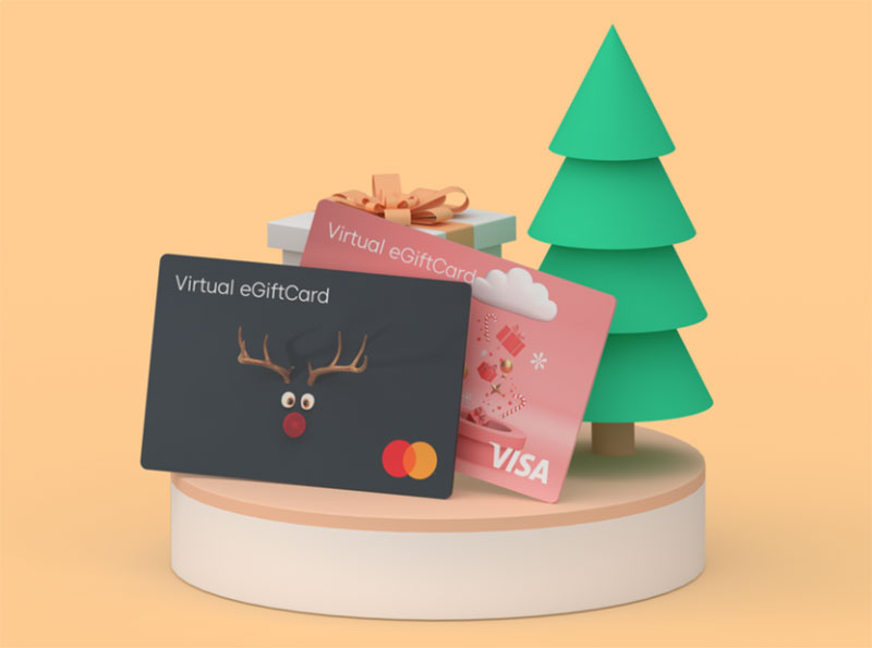 Christmas-GiftCards Christmas illustration examples that look amazing