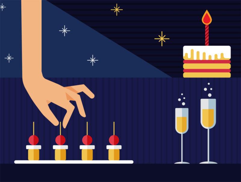 Christmas-illustration Christmas illustration examples that look amazing