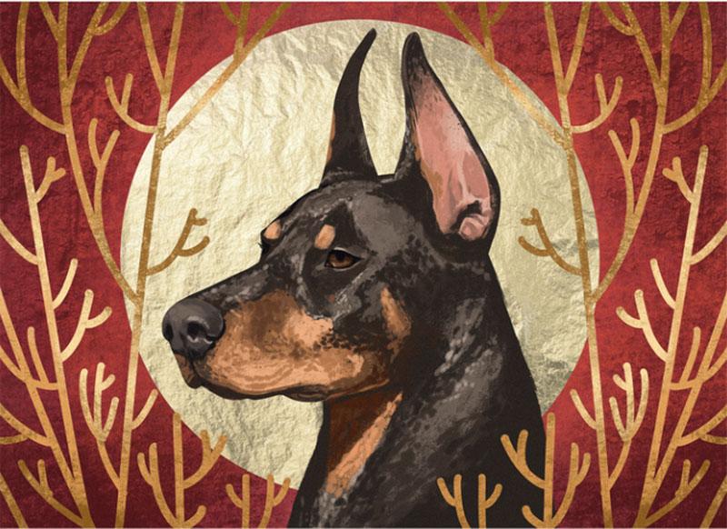 Dog-Portrait-Illustration Awesome dog illustration images to inspire you