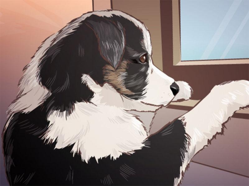 Dog-illustration2 Awesome dog illustration images to inspire you