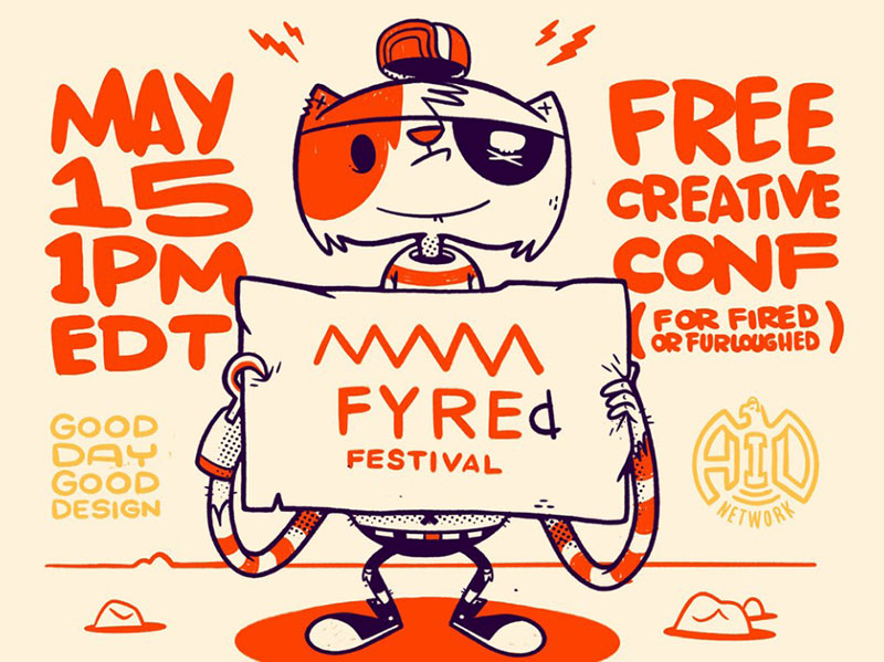 May-15-Today-FYREd-FESTIVAL Beautiful cat illustration examples to check out