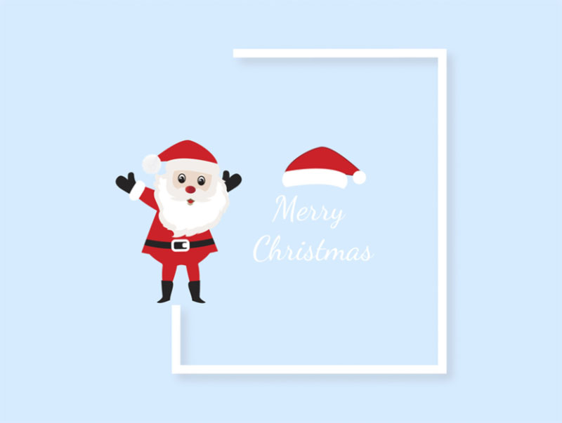 Merry-Christmas Christmas illustration examples that look amazing